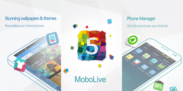 mobolive android Mobolive, te permite personalizar tu android y aplicarle temas [Reseña]