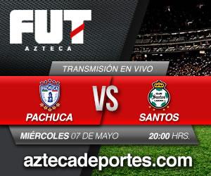pachuca vs santos en vivo tv azteca Pachuca vs Santos en vivo, Semifinal Clausura 2014 (Partido de ida)