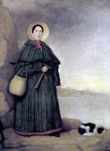 Mary Anning, ¿Quién fue y por qué esta en un Doodle? - pintura-de-mary-anning