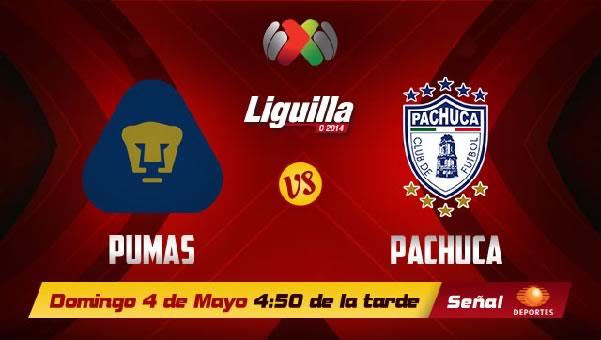 Pumas vs Pachuca en vivo, Liguilla Clausura 2014 - pumas-vs-pachuca-en-vivo-televisa-liguilla-2014