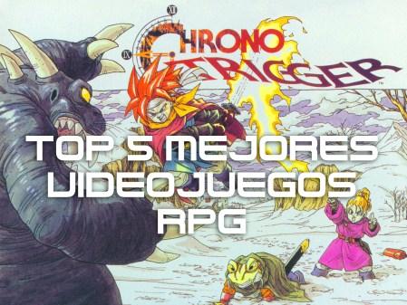 Top 5 de los mejores videojuegos RPG de la historia