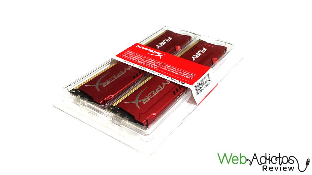 212 Kingston HyperX Fury 16GB 1866MHz [Reseña]