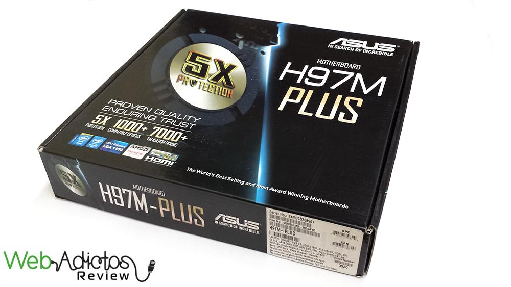 Motherboard ASUS H97M-Plus [Reseña] - 214