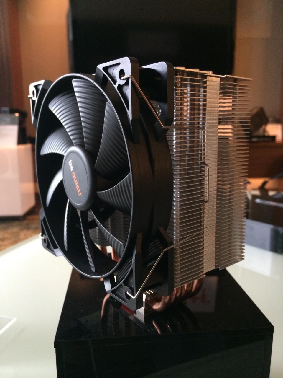 Computex 2014: Be Quiet! exhibe nuevo disipador por aire y fuente de poder - Pure-Rock-2