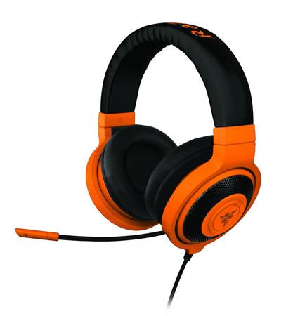 Razer Kraken Neón Series, audífonos para gamers - Razer-Kraken-Neon-Naranja