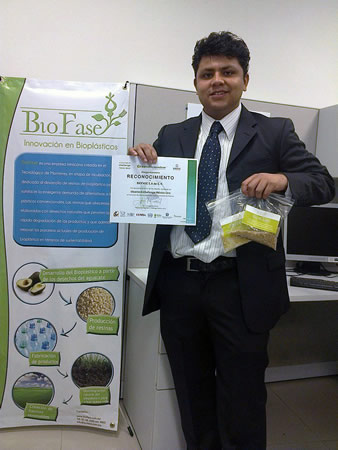 Estudiante del Tec Transforma huesos de aguacate en bioplástico - Scott-Munguia-Olvera