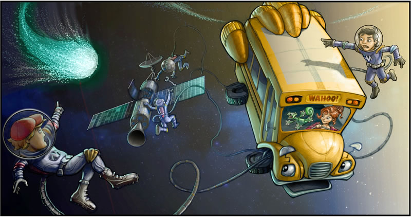 The Magic School Bus 360° la serie de Netflix para niños - The-Magic-School-Bus-netflix