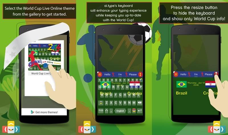 El teclado para Android ai.Type lanza una versión del Mundial 2014 - aitype-teclado-android
