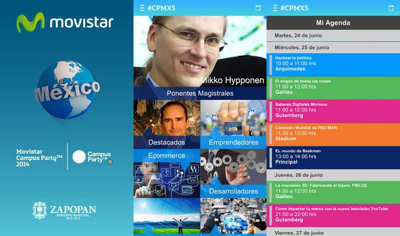 Descarga la app de Campus Party México 2014 #CPMX5 - app-campus-party-mexico-2014