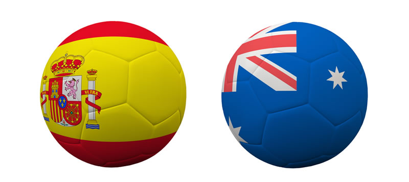 Australia vs España en vivo, sigue la despedida del campeón - australia-vs-espana-en-vivo-brasil-2014