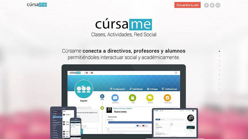 Cúrsame, plataforma educativa creada por emprendedores mexicanos - cursame-elearning