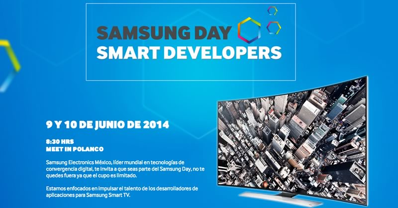 Aprende a desarrollar apps para Smart TV en el Samsung Day - desarrollar-apps-smart-tv-samsung-day