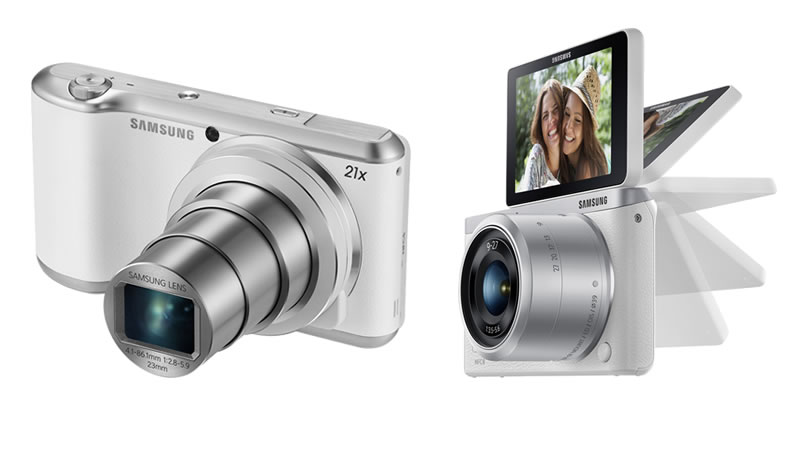 Samsung GALAXY Camera 2 y NX mini son lanzadas en México - galaxy-camera-2-nx-mini