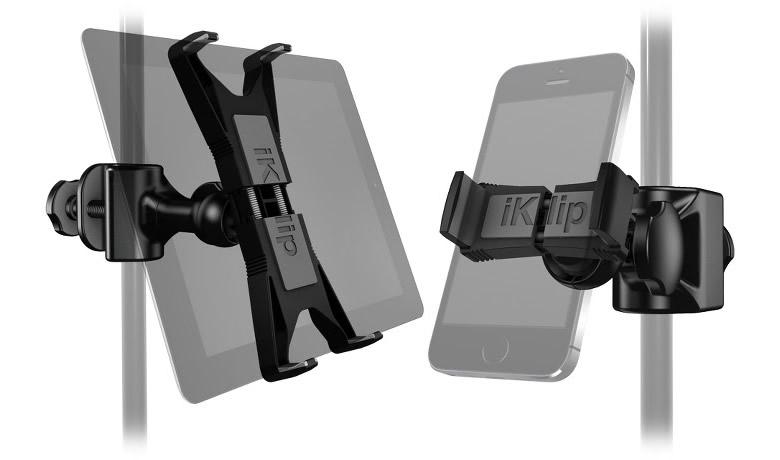 iKlip Xpand, soporte para tablets y smartphones ideal para músicos - iklip-xpand