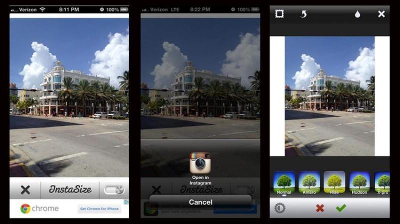 instasize 800x449 Publicar fotos a tamaño completo en Instagram con Instasize