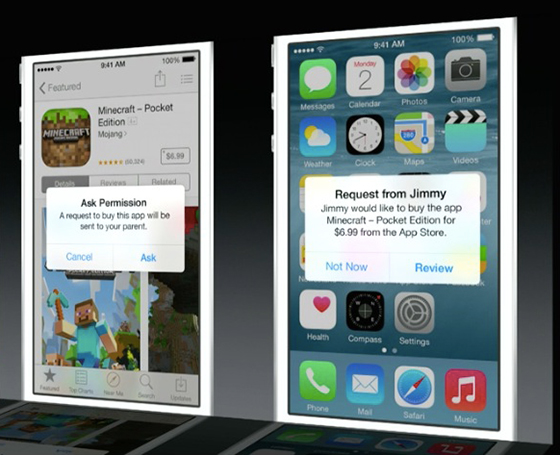 Apple presenta nuevo iOS 8 [WWDC14] - ios8_parental