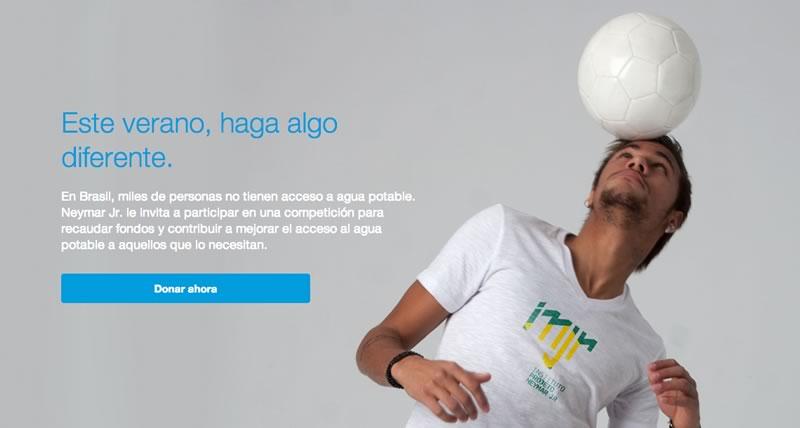Neymar Jr y Paypal te invitan a competir por una buena causa - neymar-jr-paypal
