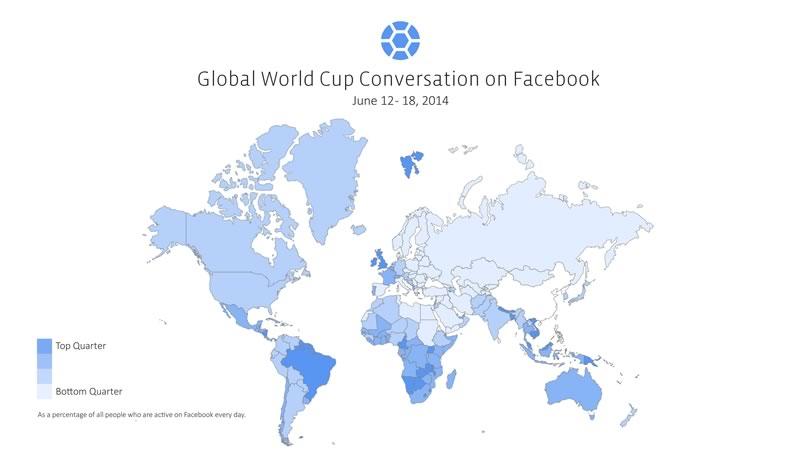 numeros de facebook en el mundial La interacción sobre Mundial 2014 en Facebook ha roto récords
