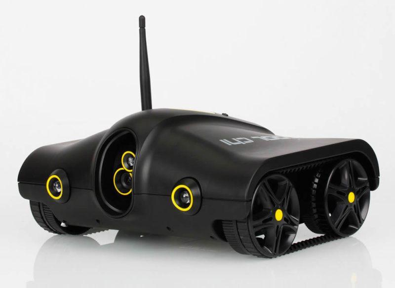 """Rover Tank, el """"tanque espía"""" controlado por WiFi que quisieras tener - rover-tank-1"""