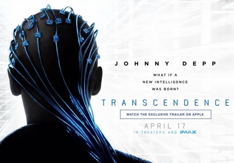 transcendence poster04 800x557 Estreno de la semana en el cine: Trascender