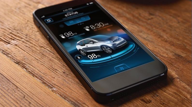 Los autos con internet ¿Son seguros? no te pierdas este estudio - BMWi3-app