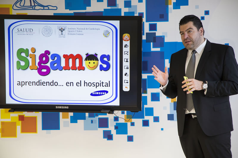 "Samsung inaugura la primera Smart School Solution en el Instituto Nacional de Cardiología ""Ignacio Chávez"" - Inauguracion-Samsung-Smart-School-Solution"