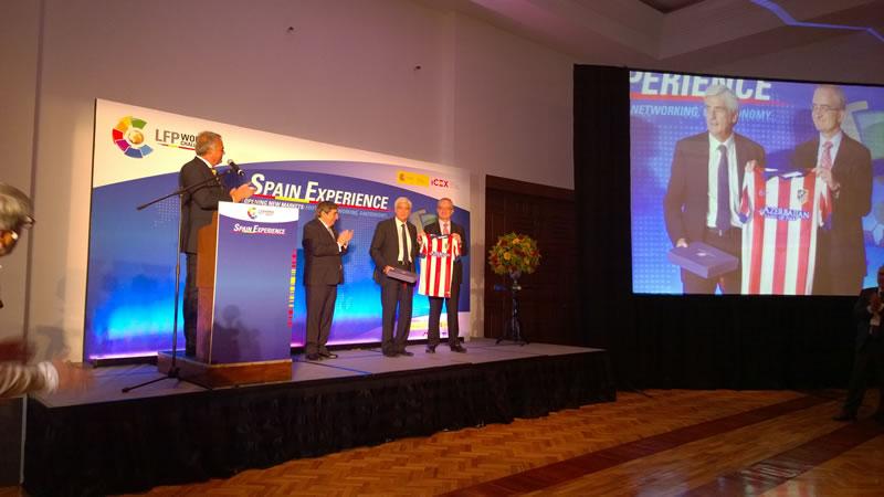 El Atlético de Madrid y LFP World Challenge llegan a México en un evento que mezcló gastronomía, tecnología y deporte - LFP-World-Challenge
