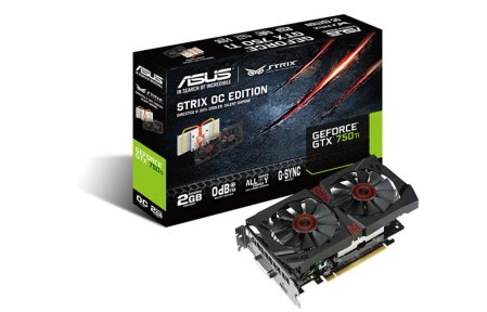ASUS Anuncia la tarjeta gráfica Strix GTX 750 Ti OC