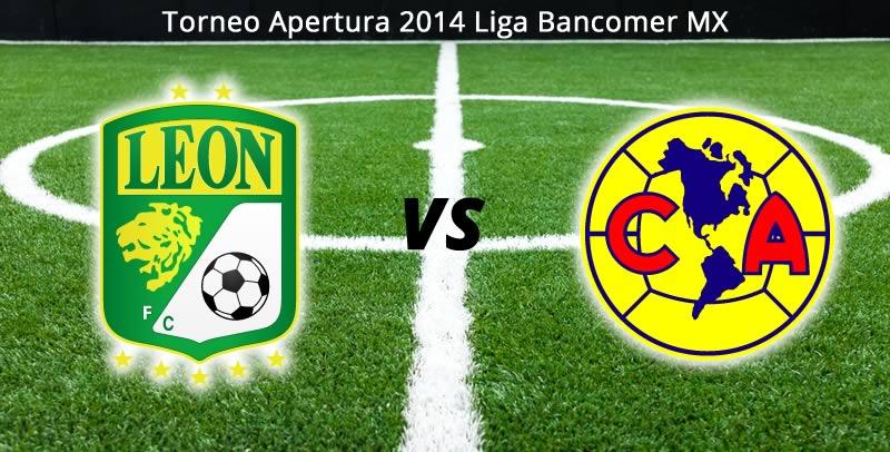 América vs León en vivo, Jornada 1 del Apertura 2014 - america-vs-leon-en-vivo-apertura-2014