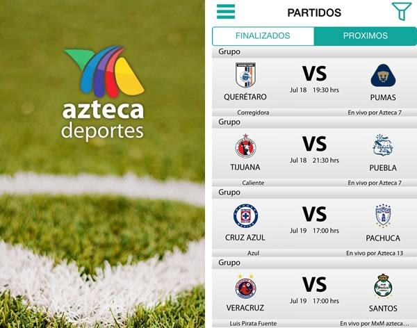 app azteca deportes futbol mexicano apertura 2014 5 apps para seguir el torneo apertura 2014 de la liga MX