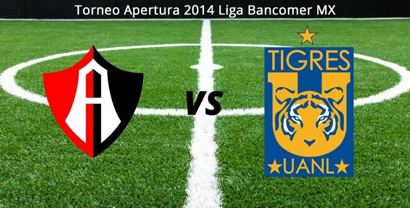 atlas vs tigres en vivo apertura 2014 Atlas vs Tigres en vivo, Jornada 1 del Apertura 2014