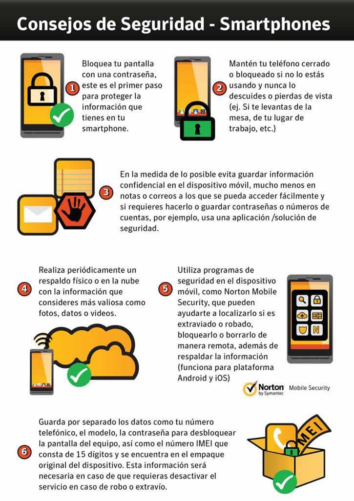 6 consejos para proteger la información en tu celular - consejos-seguridad-smartphones