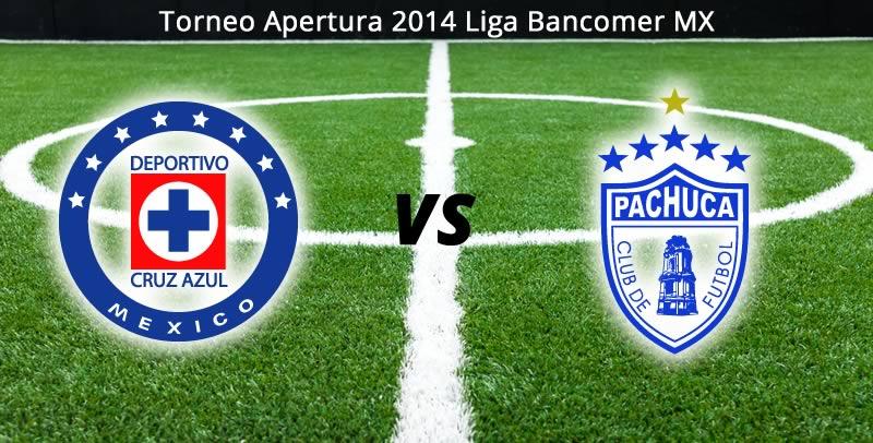 Cruz Azul vs Pachuca en vivo, Jornada 1 del Torneo Apertura 2014 - cruz-azul-vs-pachuca-en-vivo-apertura-2014