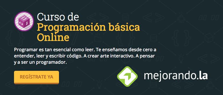 Curso de programación gratis en Mejorando.la celebrando su llegada a México ¡Inscríbete ya! - curso-de-programacion-gratis-mejorandola