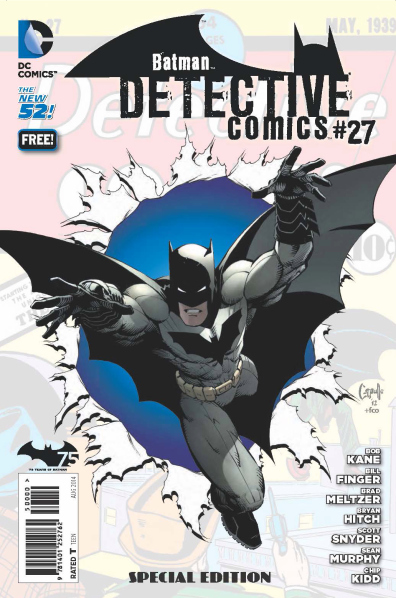 Batman cumple 75 años y DC Comics celebra el Batman Day - detective-27-11