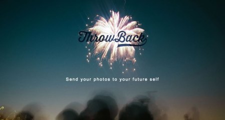 Envía tus fotos al futuro con ThrowBack para iPhone y Android