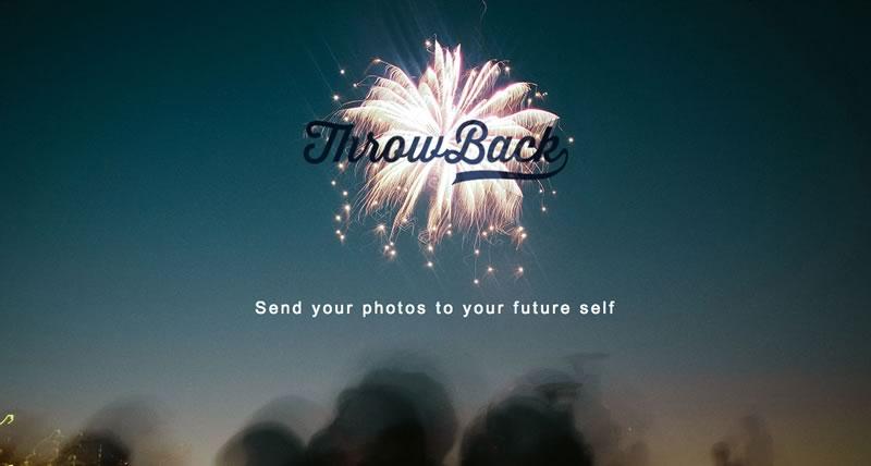 Envía tus fotos al futuro con ThrowBack para iPhone y Android - enviar-fotos-al-futuro