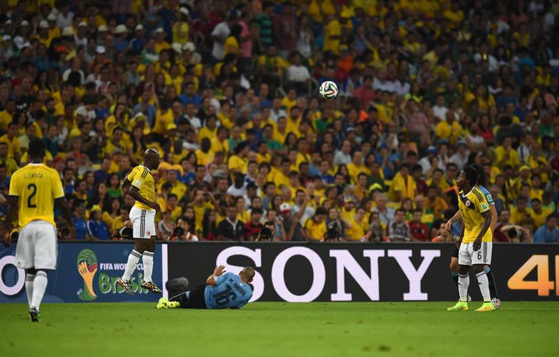 Revive los partidos de Octavos de final del Mundial 2014 - repeticion-colombia-vs-uruguay