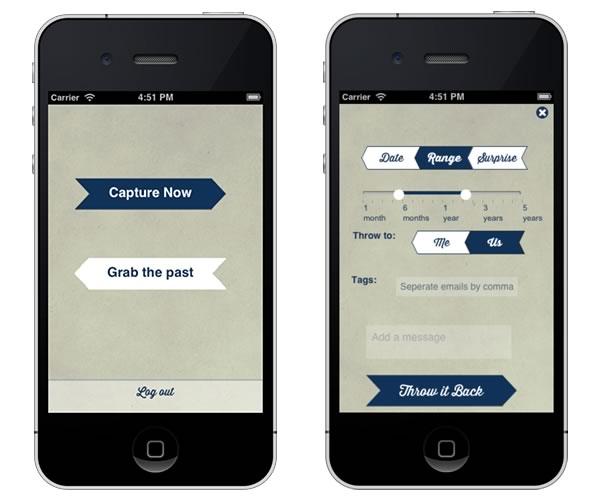 Envía tus fotos al futuro con ThrowBack para iPhone y Android - throwback-fotos-futuro