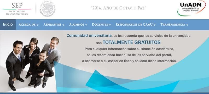Estudiar la universidad línea ¡Gratis! es posible en la UnADM - universidad-en-linea-gratis-mexico