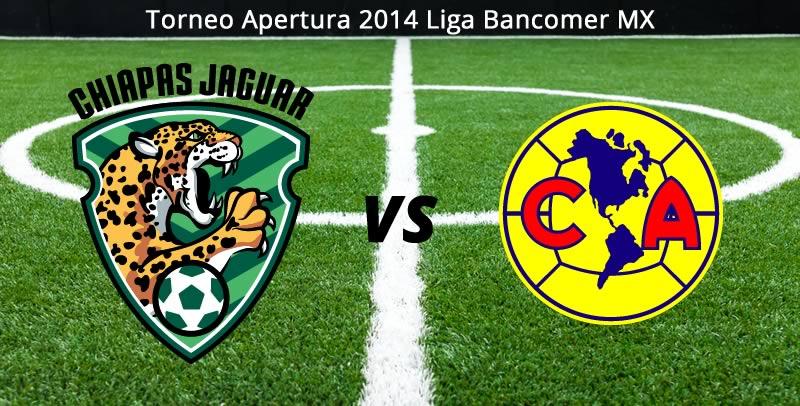 América vs Jaguares, Jornada 6 del Apertura 2014 - America-vs-Jaguares-en-vivo-Apertura-2014