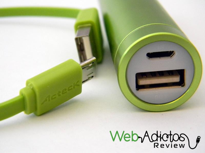 Batería externa Acteck Powerbank; Ligera, compacta y buen precio
