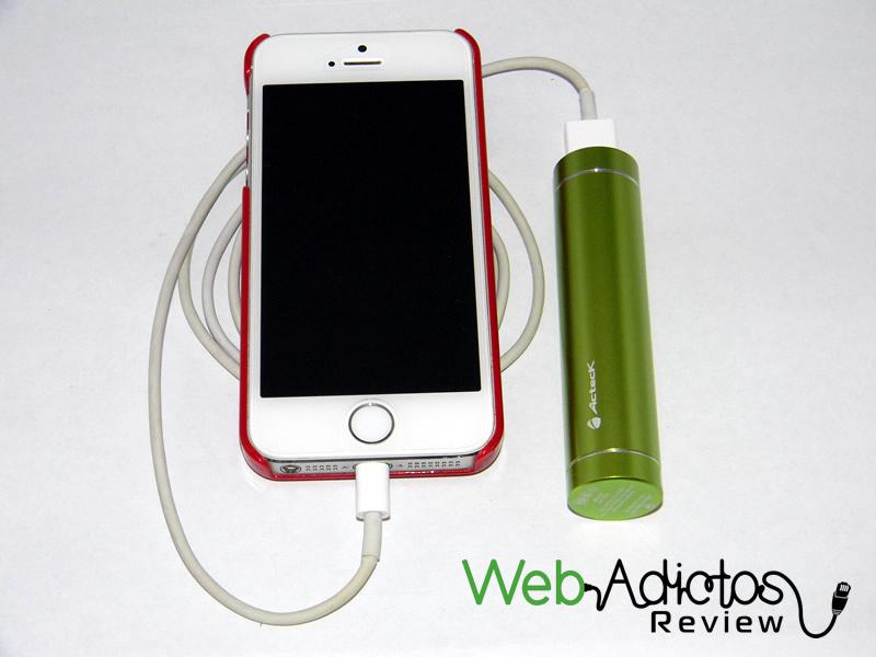 Batería externa Acteck Powerbank; Ligera, compacta y buen precio - Bateria-Externa-Acteck-PowerBank-MVPB-00349