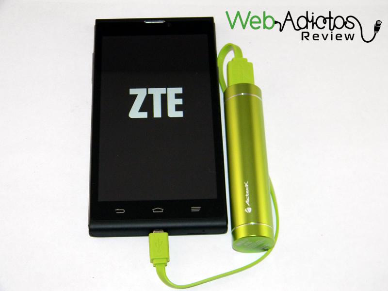 Batería externa Acteck Powerbank; Ligera, compacta y buen precio - Bateria-Externa-Acteck-PowerBank-MVPB-00356