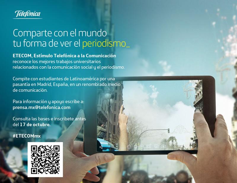 ETECOM México 2014 busca reconocer el talento de los jóvenes periodistas - Convocatoria-ETECOM-Mexico-2014