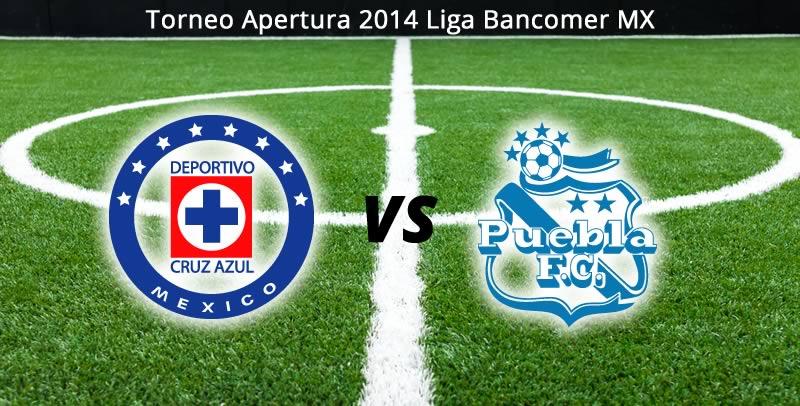 Cruz Azul vs Puebla, Jornada 4 del Apertura 2014 - Cruz-Azul-vs-Puebla-en-vivo-Apertura-2014