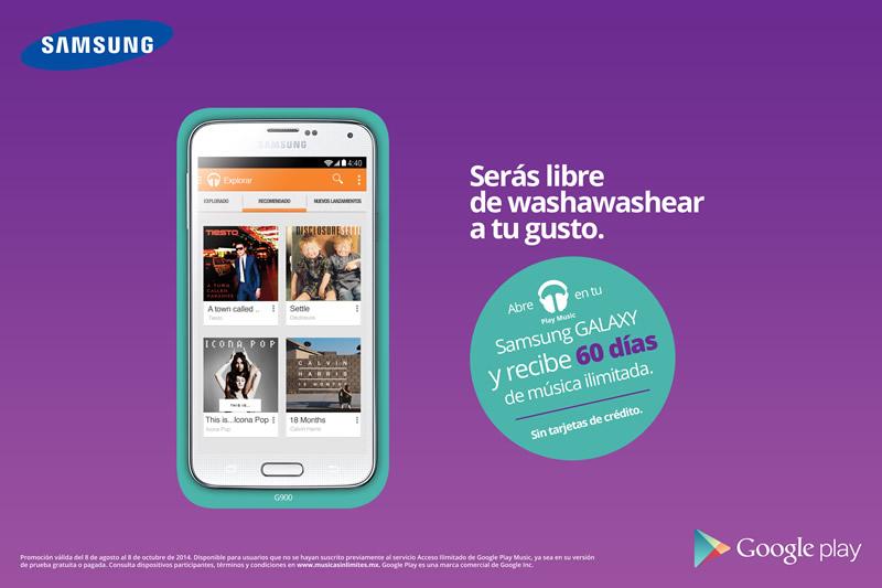 Samsung y Google Play Música te ofrecen 60 días de música ¡grátis! - Google-Play-Musica-Samsung-Gratis