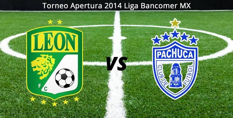 León vs Pachuca, Jornada 7 Apertura 2014 - Leon-vs-Pachuca-en-vivo-Apertura-2014