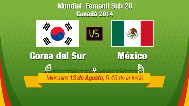 México vs Corea del Sur, Mundial Femenil Sub 20 - Mexico-vs-Corea-del-Sur-en-vivo-Mundial-Femenil-Sub-20