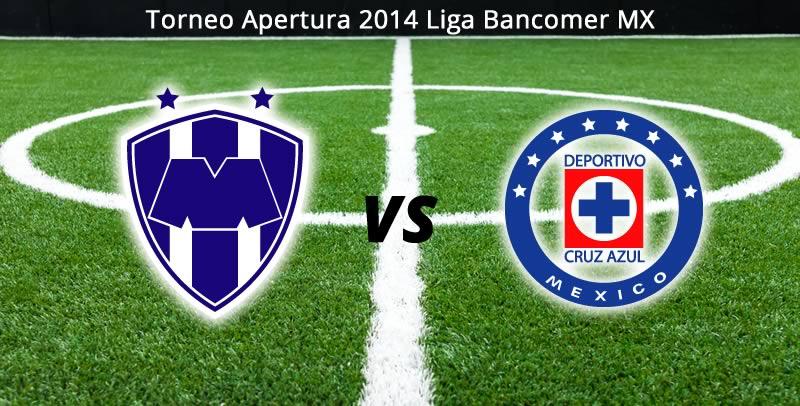 Monterrey vs Cruz Azul, Jornada 5 del Apertura 2014 - Monterrey-vs-Cruz-Azul-en-vivo-Jornada-5-Apertura-2014